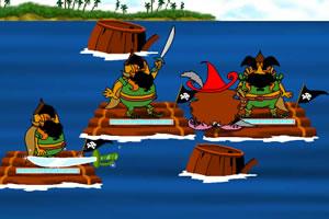 哥伦布海盗对战