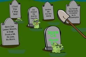 墓地打屍蟲
