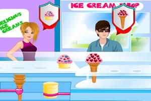 经营冰淇淋店