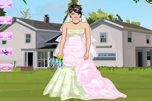 海滩婚礼装扮
