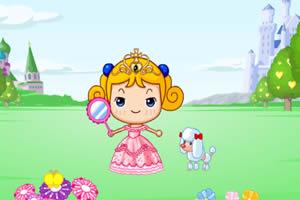 小女孩的公主梦