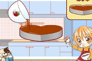 情人节MM做巧克力