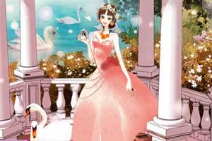 天鹅公主4399小游戏美女天鹅公主插画天鹅公主成人礼
