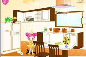 阿Sue整理廚房
