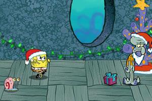 海绵宝宝抢圣诞礼物