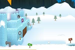 疯狂企鹅之雪城大战