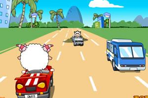 美羊羊卡丁车