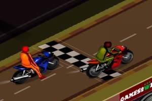 摩托车拖曳赛