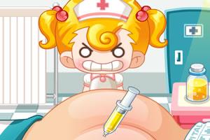 跟小美医生学打针