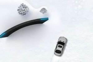 开奔驰雪地狂飚