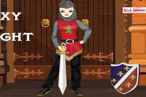 中世纪骑士装扮