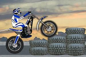 障碍摩托挑战赛