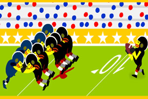 橄榄球大联盟赛