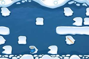 小企鵝跳冰塊