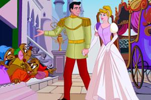 王子和公主的约会拼图