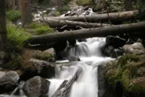 森林瀑布拼图