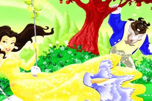 绘画公主与野兽