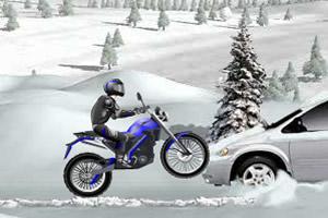 冰山雪地摩托车无敌版