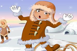 探险北极之装扮