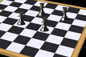 黑白皇后棋