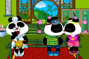 熊貓小屋之吻