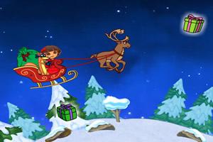 朵拉圣诞探险