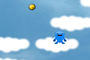 云端小蓝怪2