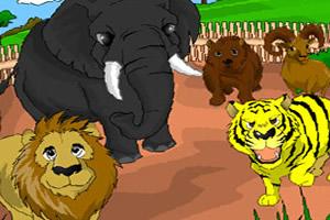 动物园填色