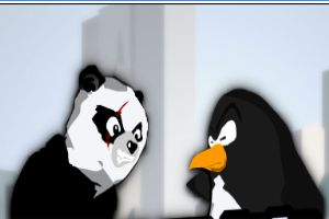熊貓企鵝領土之戰