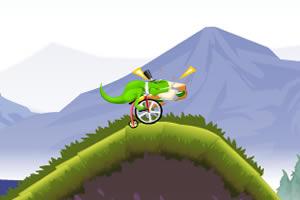 恐龙骑自行车