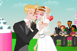 安妮婚禮的吻