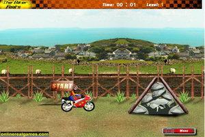 火焰摩托车