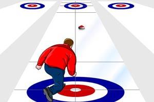 冰上的圆盘比赛