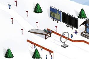 推雪橇比赛