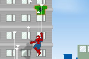 蜘蛛俠收衣服