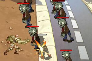 铁血战士大战僵尸