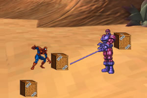 蜘蛛侠保护箱子