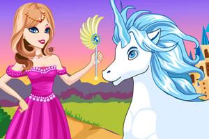 美丽公主与独角兽
