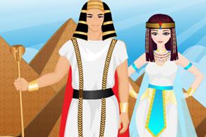 埃及夫妇装扮