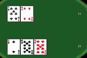 扑克21点