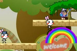 彩虹兔无敌版