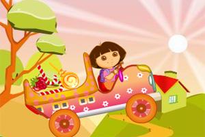 朵拉糖果车