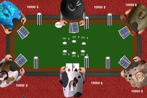 牛仔德州扑克