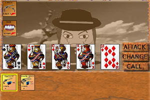 牛仔扑克对决