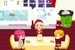 美味圣诞餐厅
