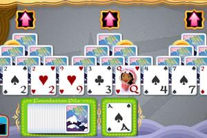山顶打扑克