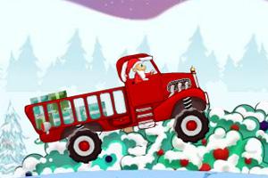 圣诞老头运输车