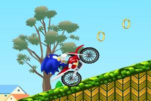 索尼克騎摩托