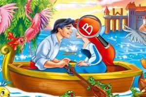 美人魚與王子找字母