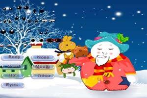 圣诞雪人换装